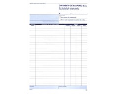 D.d.t. documento di trasporto Tentata vendita A4 duplice copia DATA UFFICIO