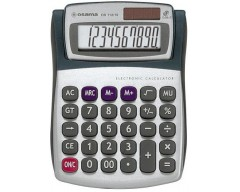 Calcolatrice da tavolo Metal by OSAMA col:argento