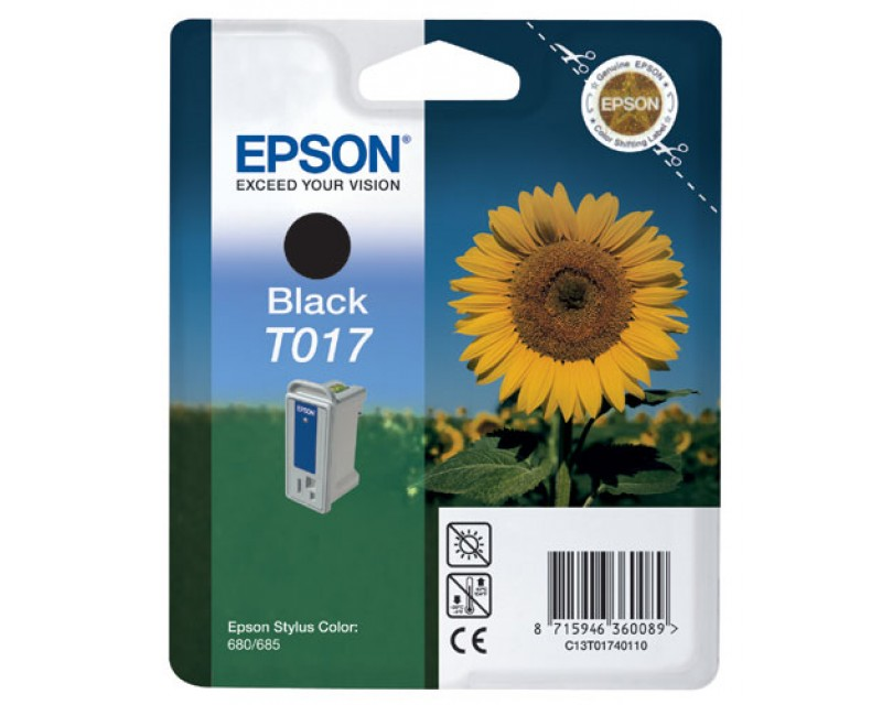 Cartuccia inchiostro/ink EPSON T017 Nero/Black GIRASOLE