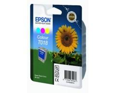 Cartuccia inchiostro/ink EPSON T018 Colour Cyan/Magenta/Giallo GIRASOLE