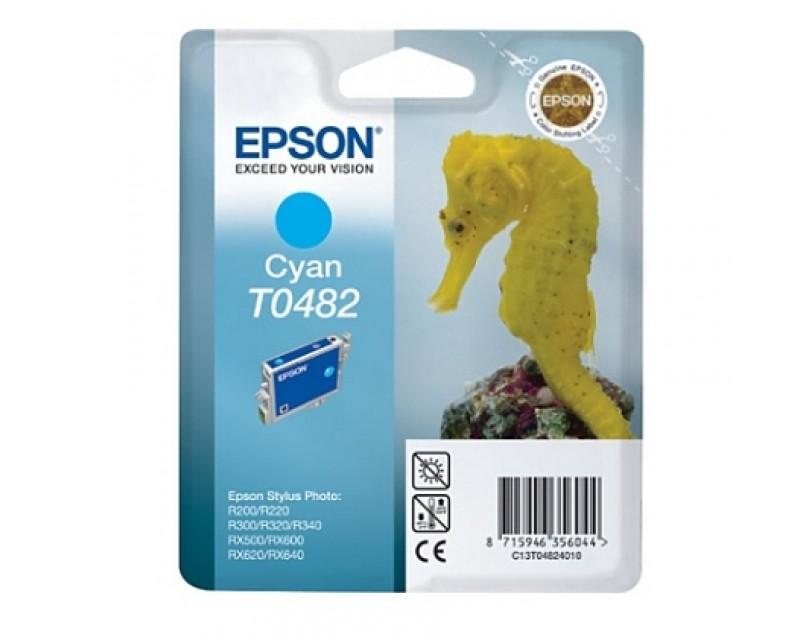 Cartuccia inchiostro/ink EPSON T0482 Cyan CAVALLUCCIO MARINO