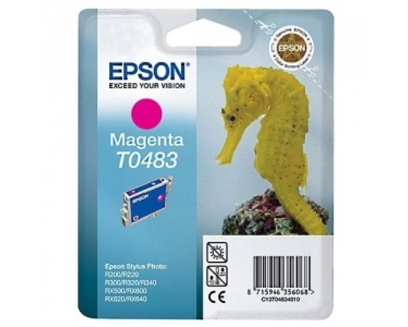 Cartuccia inchiostro/ink EPSON T0483 Magenta CAVALLUCCIO MARINO