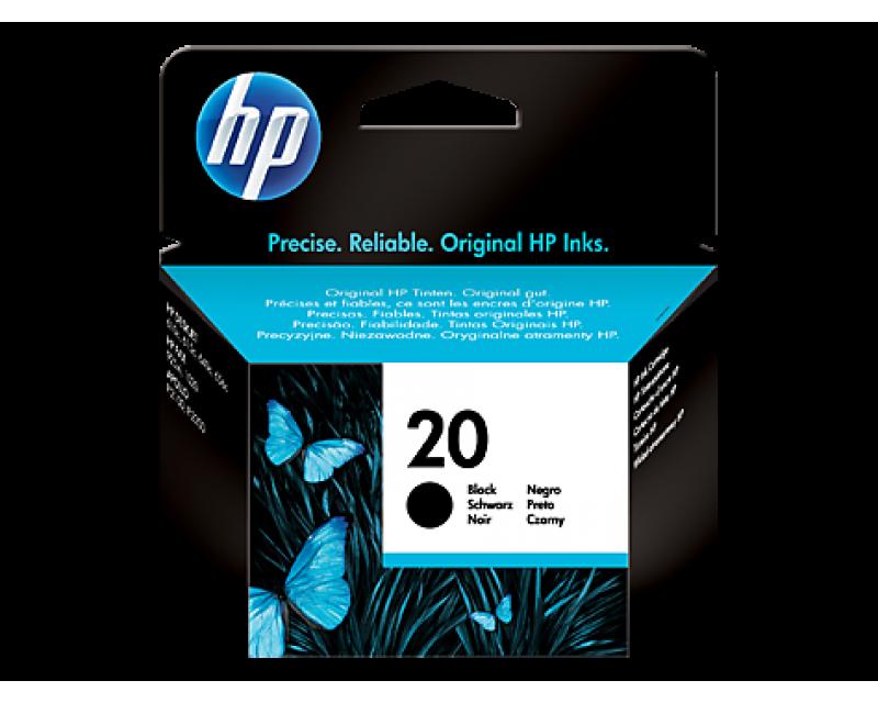 Cartuccia HP Ink 20 BLACK/NERO cod:C6614DE