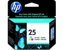 Cartuccia HP Ink 25 COLORI/COLOURS cod:51625AE
