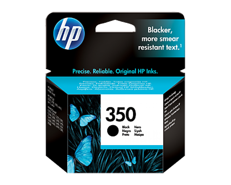 Cartuccia HP Ink 350 BLACK/NERO cod:CB335EE UUS