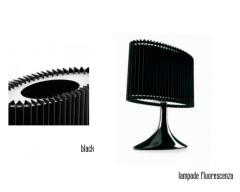 Lampada  FERNOVA  modello black