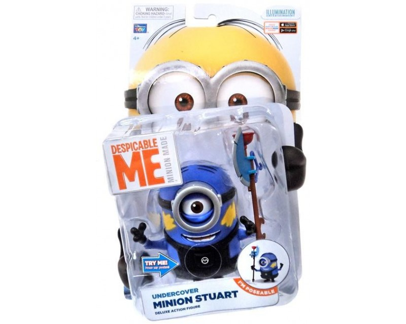 DESPICABLE ME 2 DELUXE ACTION FIGURE MINION JERRY