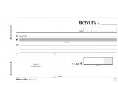 Blocco ricevute generiche duplice copia DATA UFFICIO