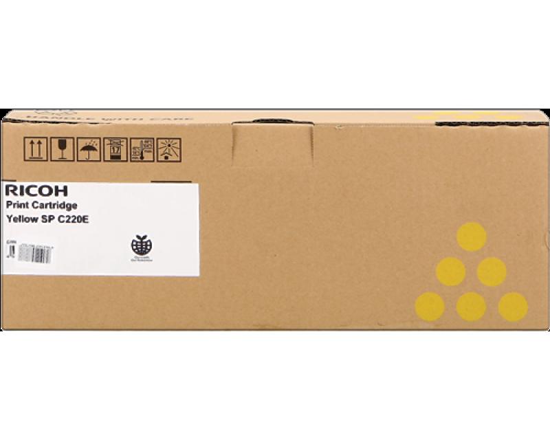 Toner RICOH SP C220E 406055 / 406106 / 406768 giallo/yellow