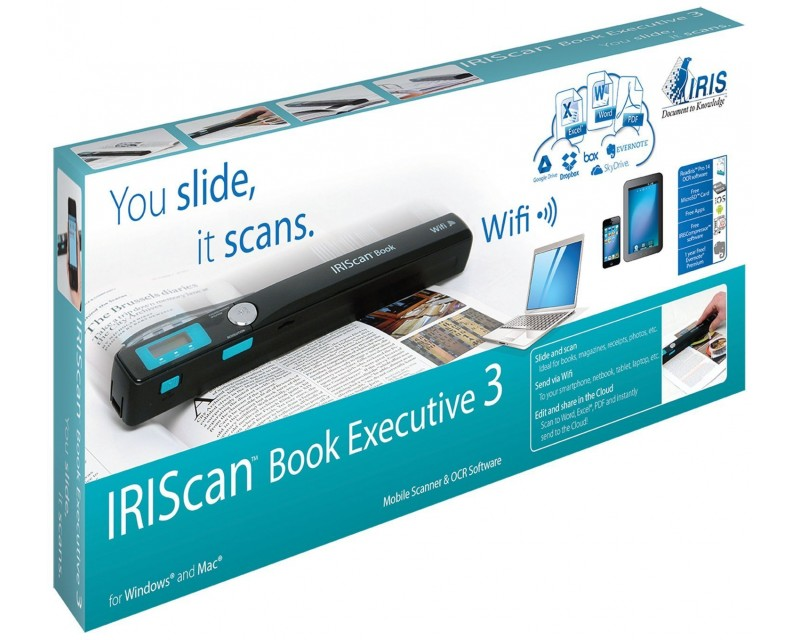 Scanner iris iriscan book 3 executive