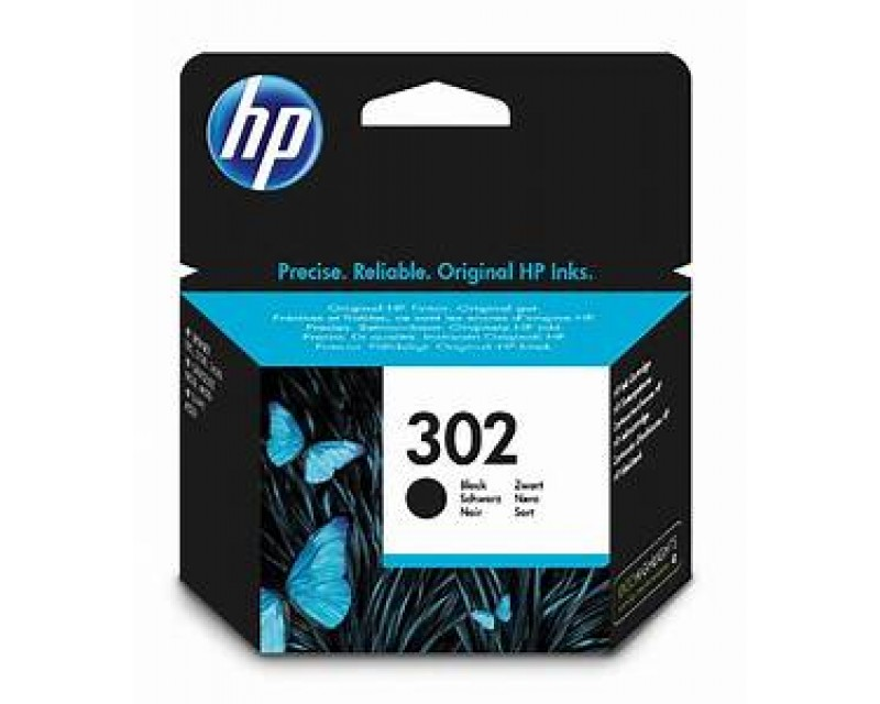 Cartuccia HP Ink 302 BLACK/NERO cod:F6U66AE